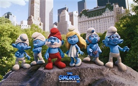 Preview wallpaper The Smurfs