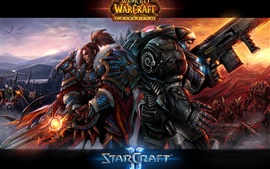 Preview wallpaper Warcraft Starcraft 2