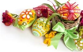 Aperçu fond d'écran Easter Egg cadeaux