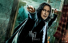 Preview wallpaper HP7 Part 2 Snape