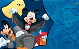 Preview wallpaper Mischievous Mickey