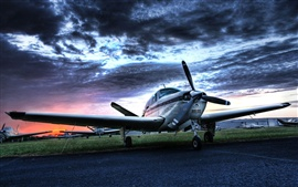 Preview wallpaper Small private aircraft