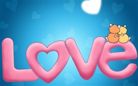 Preview wallpaper Sweet love
