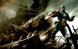 Preview wallpaper 2011 Captain America HD