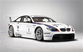 Preview wallpaper BMW Motorsport white color