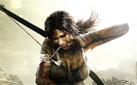 Preview wallpaper Lara Croft in Tomb Raider 9