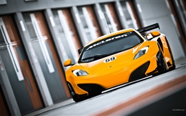 Preview wallpaper McLaren MP4-12C GT3 2011