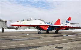 Preview wallpaper Mig-29 martins airport