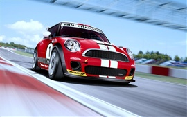 Preview wallpaper Morgan Mini Challenge Car