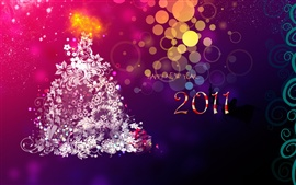 Preview wallpaper New Year's abstraction