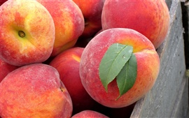 Preview wallpaper Peach fruit close-up