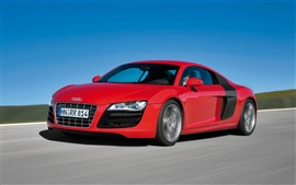Audi vermelho