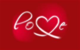 Preview wallpaper Valentine day love red