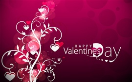 Preview wallpaper Vector Valentine's Day hearts
