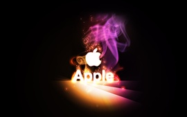 Preview wallpaper Apple fantastic colors