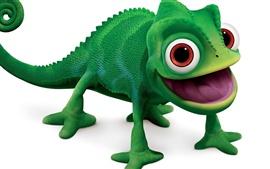 Camaleão verde brinquedo