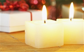 Preview wallpaper Christmas candles