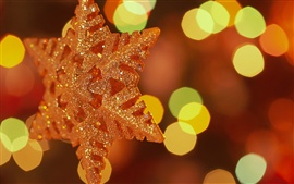 Preview wallpaper Christmas decorations snowflakes