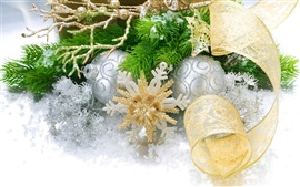 Preview wallpaper Christmas decorations
