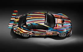 Colorful BMW motorsport