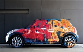 Colorful painting of the car Wallpapers Pictures Photos Images