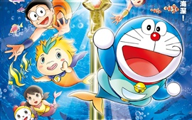 Preview wallpaper Doraemon cartoon