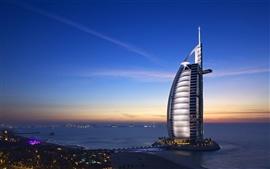 Aperçu fond d'écran Hôtels Dubaï Burj Al Arab
