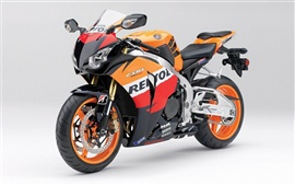 Preview wallpaper Honda motorcycle close-up