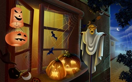 Preview wallpaper Horror Halloween Eve