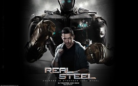 Preview wallpaper Hugh Jackman in Real Steel