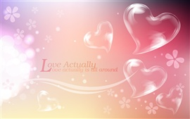 Preview wallpaper Love actually is all around