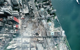 Preview wallpaper Very High Definition Satellite WTC Photo