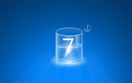 Preview wallpaper Windows 7 glass