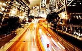 Ambilight urban road