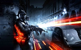 Preview wallpaper Battlefield 3 city street