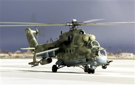 Preview wallpaper Camouflage military helicopter