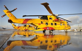 Preview wallpaper Canada rescue helicopter