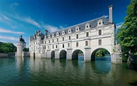 Preview wallpaper Chenonceau Castle river summer