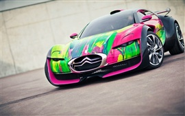 Preview wallpaper Citroen Survolt concept car