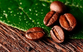 Preview wallpaper Coffee beans close-up
