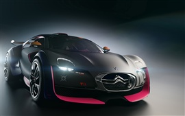 Preview wallpaper Cool black Citroen car