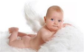 Aperçu fond d'écran Ange mignon bébé