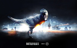 Dinosaur in Battlefield 3