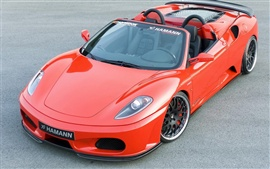Preview wallpaper Hamann red sports car