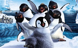 Preview wallpaper Happy Feet Two