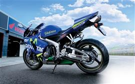 壁紙のプレビュー ホンダCBR600RRのオートバイ