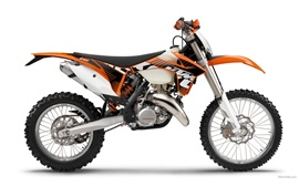 Preview wallpaper KTM Offroad 125 EXC motorcycle 2012