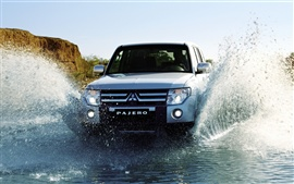 Preview wallpaper Mitsubishi Pajero Jeep