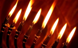 Preview wallpaper Red candlelight