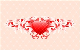Preview wallpaper Saint Valentine's Day flowers gifts